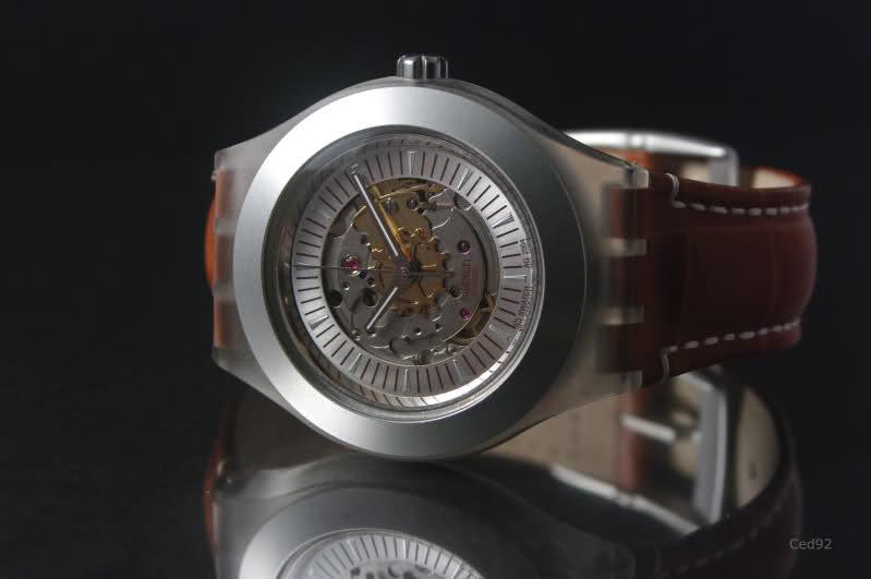 Swatch Irony Diaphane Automatique - Single Malt 141z5f