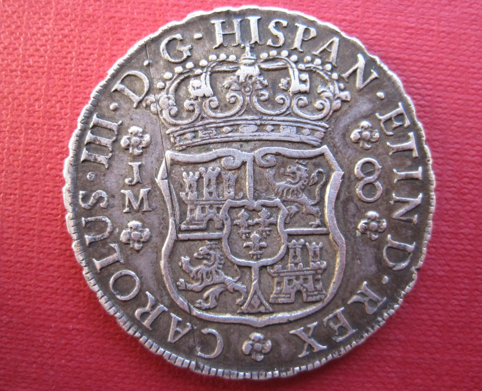 8 reales 1768. Carlos III. Lima. 15hebm9