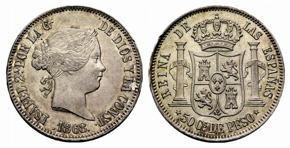 Estudio monográfico: Las monedas en el reinado de Amadeo I (1871-1873) 15mzjgj