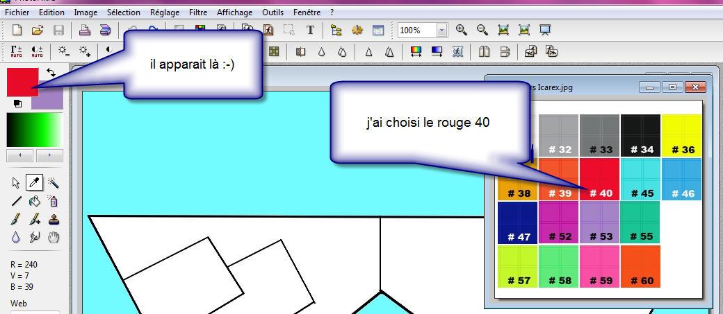 création d'un panneautage avec un logiciel gratuit de retouche d'images 16a35so