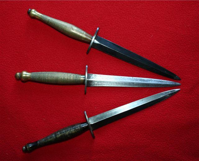 collection de lames de fabnatcyr (dague poignard couteau) 198j7p