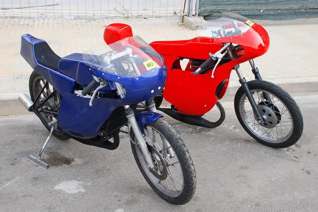 Exhibición de motos clásicas de competición en Beniopa (Valencia) 205vyp1