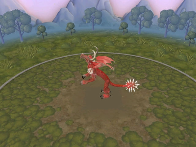 2 dragones que son: frost dragon y dragon rojo 23mrbmg