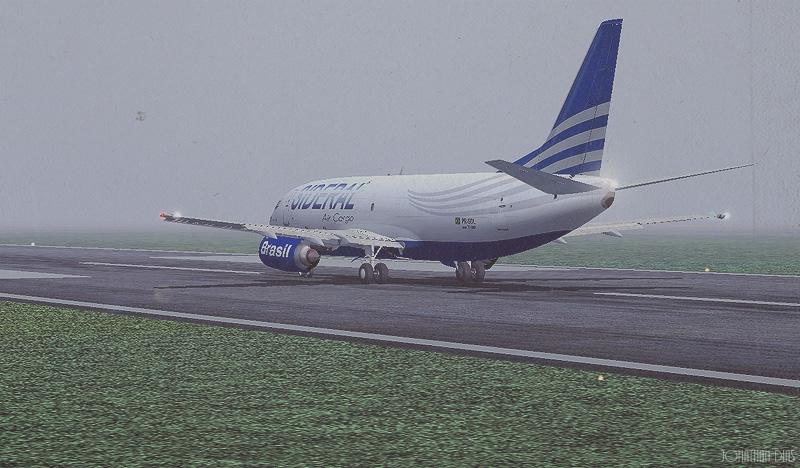 (Photoshop) Boeing 737 -300F | Sideral Air Cargo - SBBR - SBGL 255s4qu