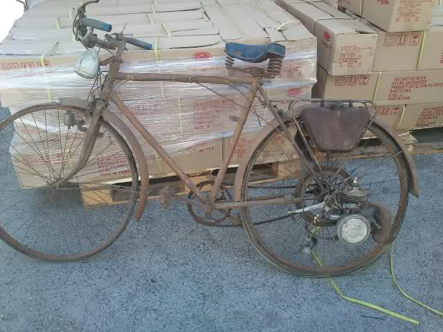 Bici con motor 260r091