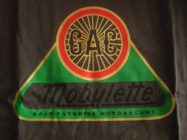 Camisetas logo G.A.C. Mobylette 2019 28tfeyt