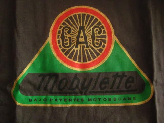 Camisetas logo G.A.C. Mobylette 2019 28tfeyt