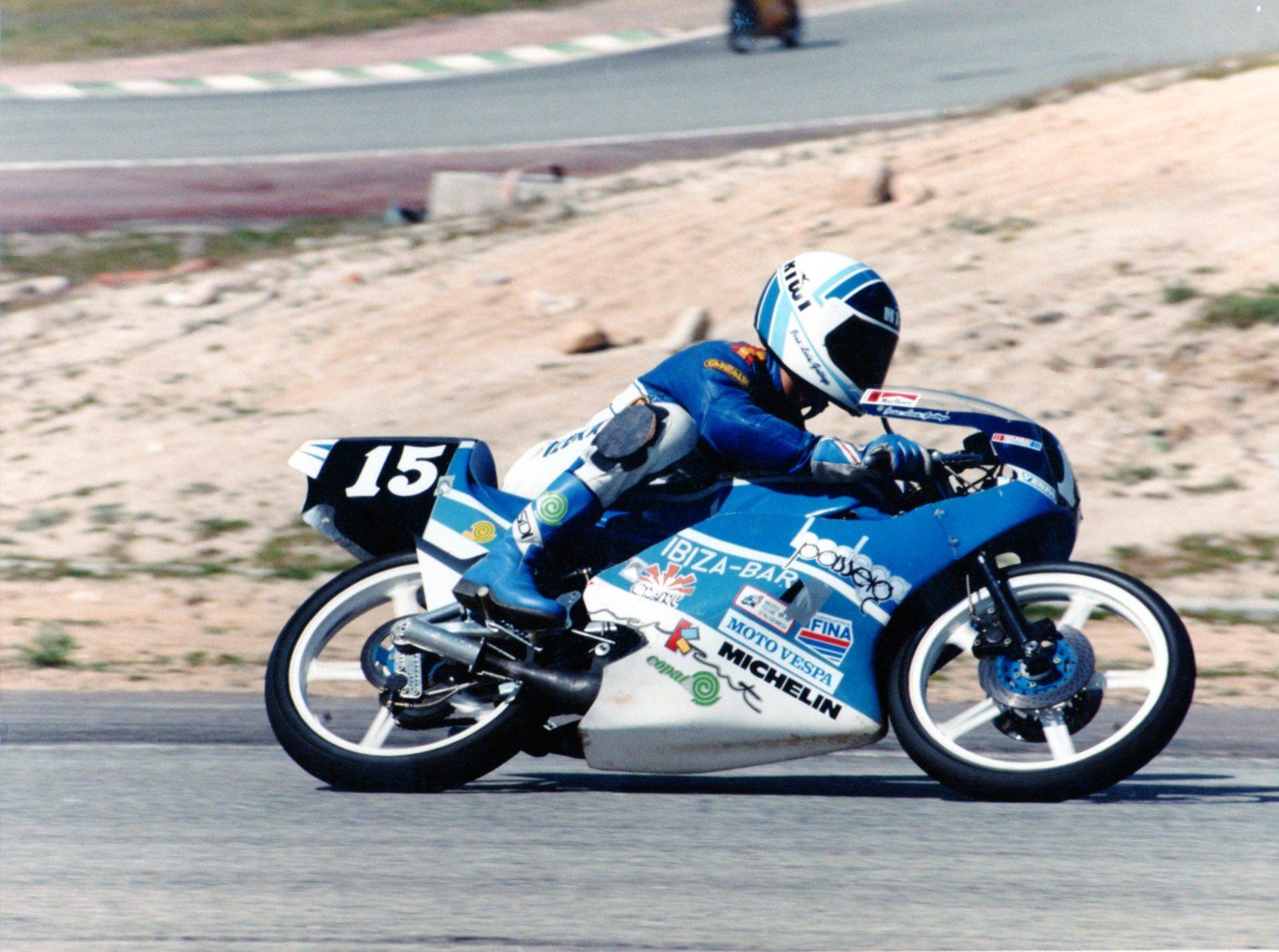 Antiguos pilotos: José Luis Gallego (V) 2h4z6m8