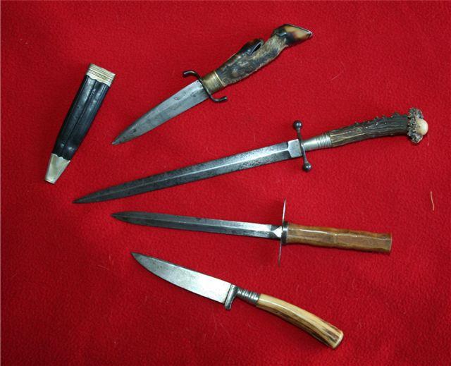 collection de lames de fabnatcyr (dague poignard couteau) 2irb68o