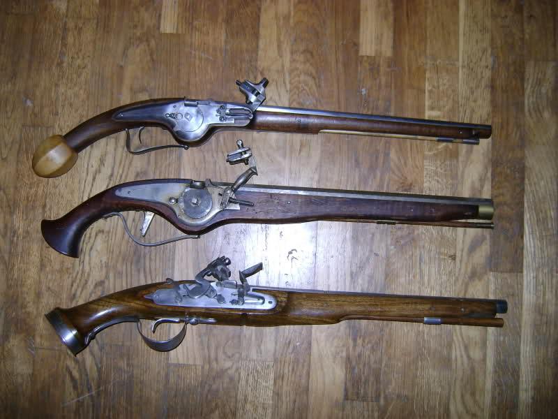 Les armes à feu au cours des siècles. 2jcdcn