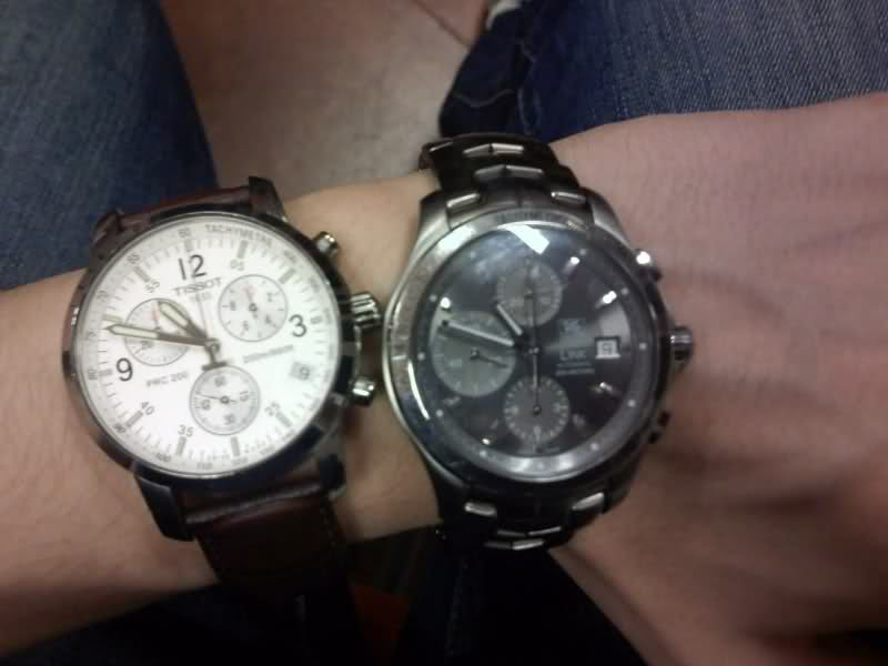 Demande avis sur achat futur de Tissot PRC 200 chrono I (quartz avec aiguille ja 2m85zqu