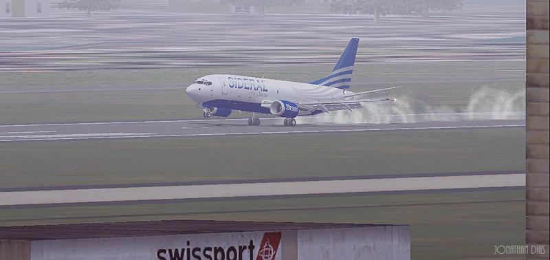 (Photoshop) Boeing 737 -300F | Sideral Air Cargo - SBBR - SBGL 2qbdm4y
