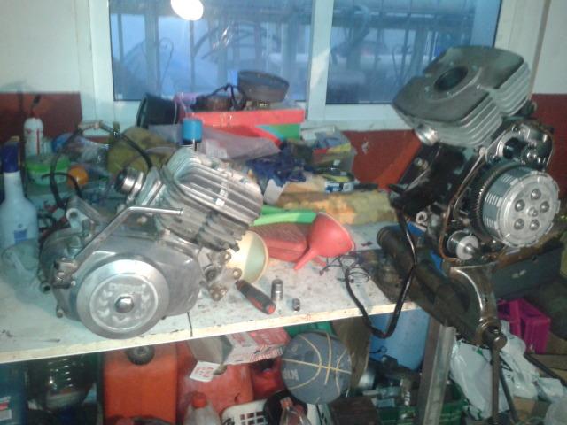 Motor Derbi con láminas  2vlp1l1