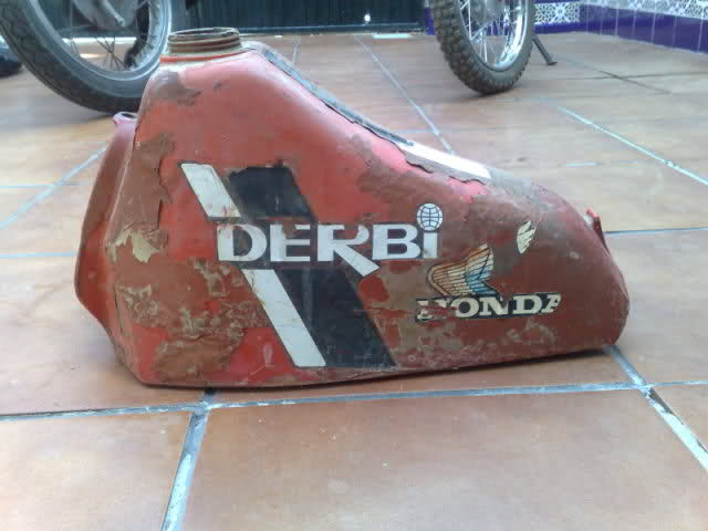 Derbi TT8/CR 81-82 - Diferencias En Chasis 2w2nati