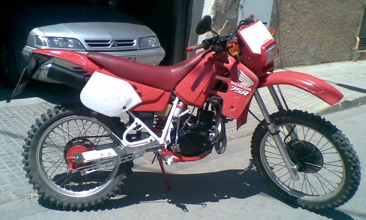 Nuevo proyecto: Honda CRM 75 - Página 2 30113f8