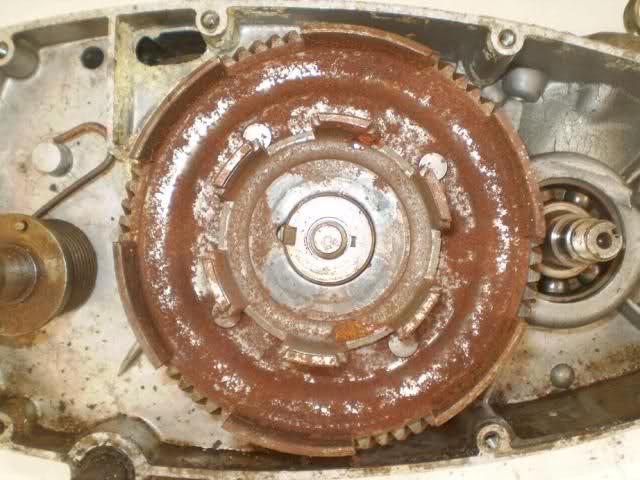 Restauración Moto Guzzi Hispania Serva 30j4mz8