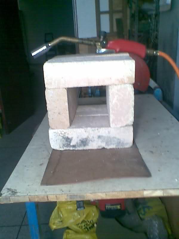Fragua casera a Gas--Gas Forge 3498e2w