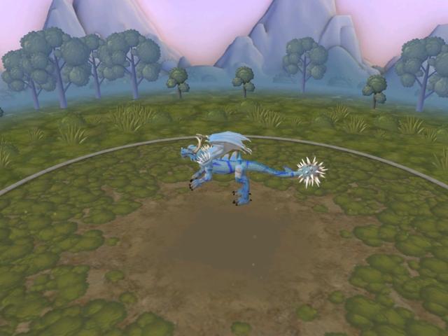 2 dragones que son: frost dragon y dragon rojo 652txs