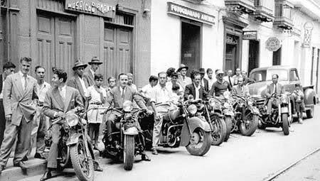 Motos clásicas en Colombia en los años 50 6tpqbo