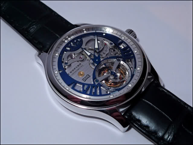 Chopard LUC Tourbillon Tech Steel Wings 90adkp