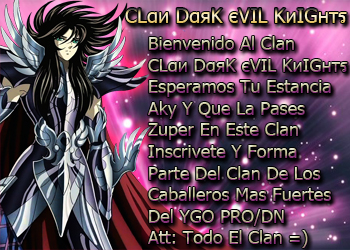 Clan DARK EVIL KNIGHTS - <> Erk4u8