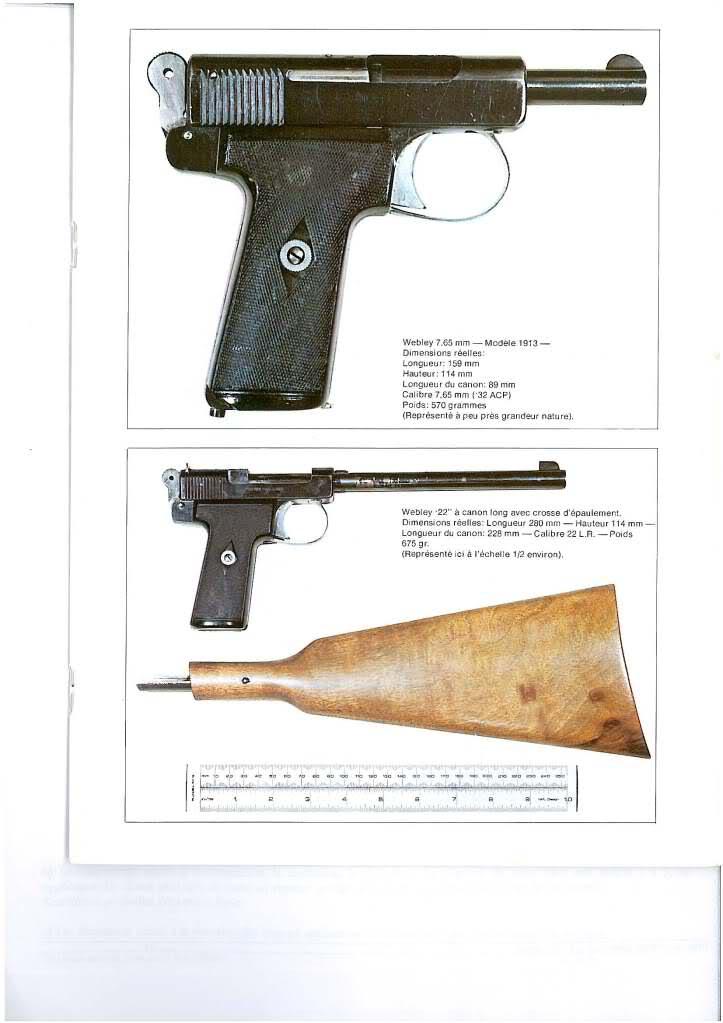pistolets automatiques webley & scott I40gtu