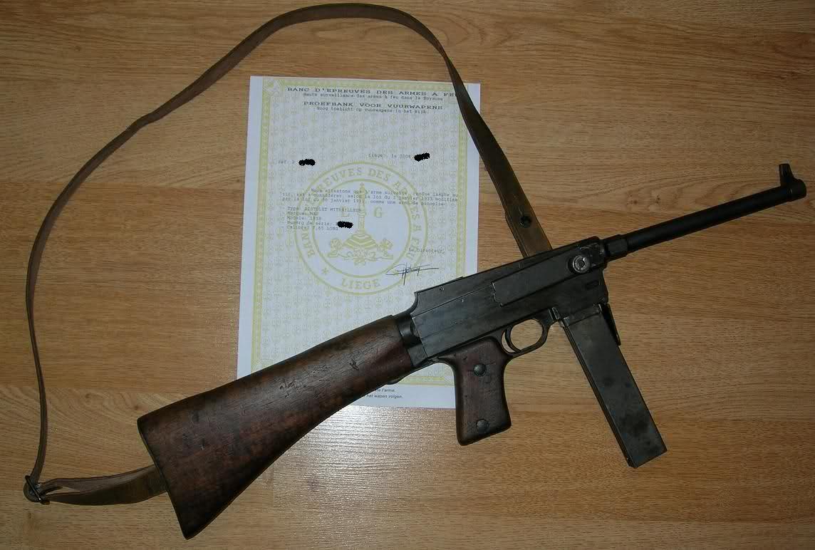 [VDS] Vends Pistolet Mitrailleur MAS mod 1938 daté 1942 J9brso