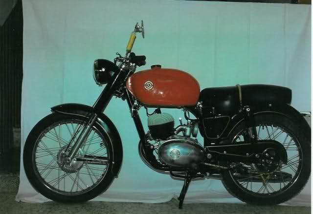 Motos españolas del 40 al 60 K3namo