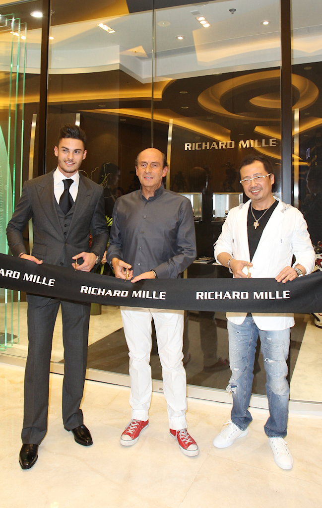 Ouverture de la seconde boutique Richard Mille de Hong Kong. N5o6eg