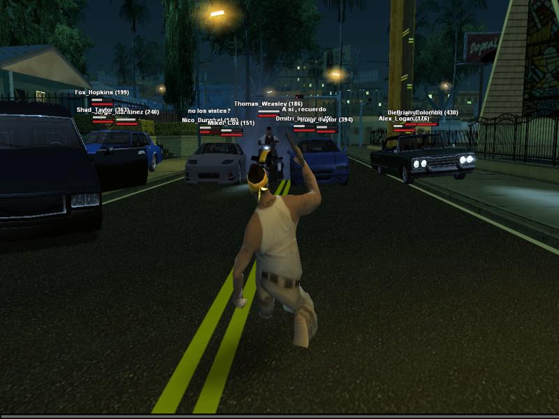 San Andreas Multiplayer (SAMP) Osa4i9