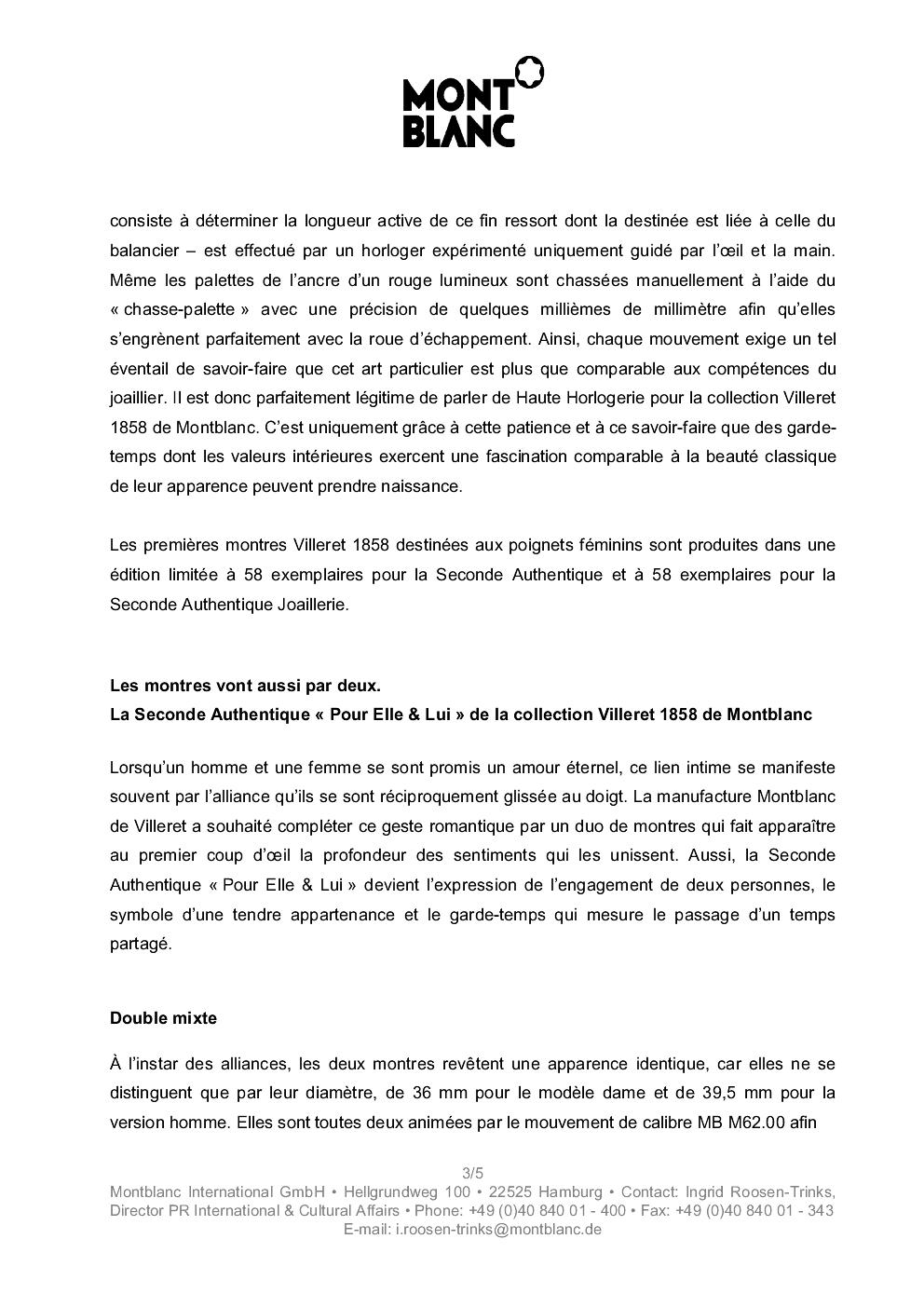 SIHH 2013 MONTBLANC Villeret Seconde Authentique Rs7f4h