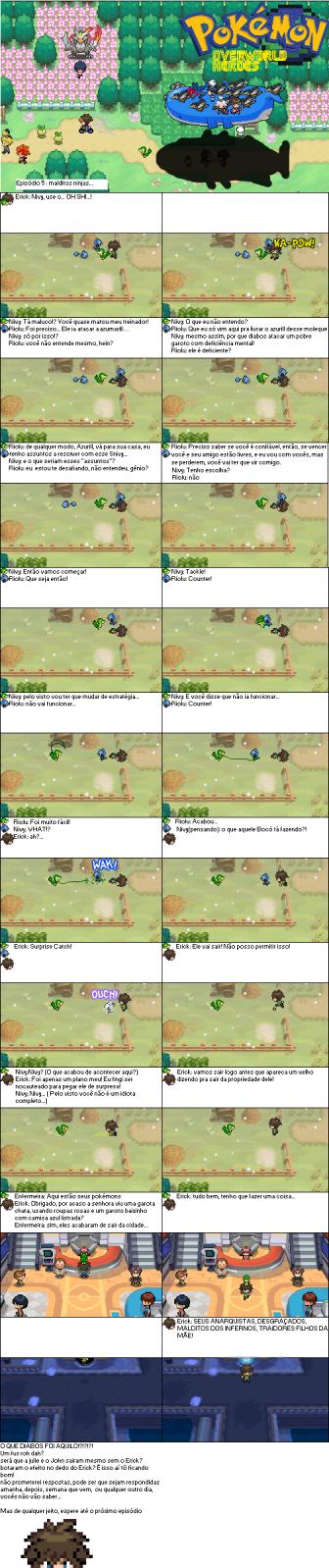 Pokémon Overworld Heroes [+72] Uo6jm