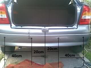 Tutorial montaj senzori parcare Vih2fn