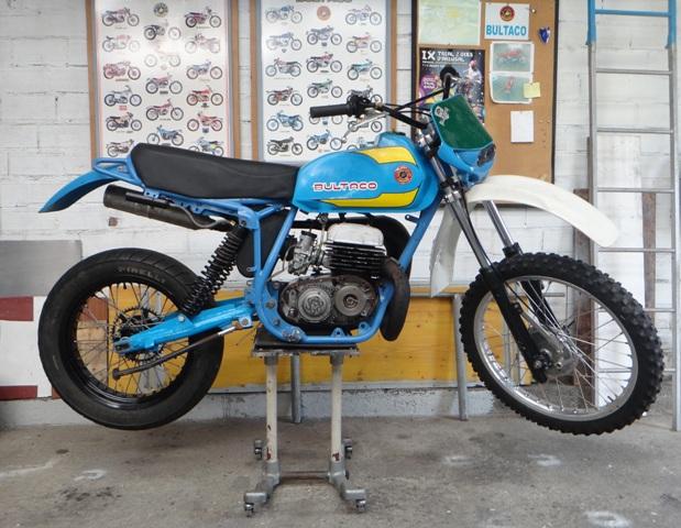 Bultaco Frontera MK11 370 - By Jorok X0ofit