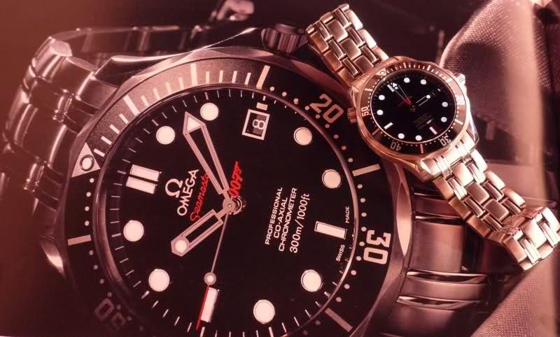 Attention : Omega VS Rolex ! (comparatif Submariner - Seamaster 30 Atm) Zuqwle