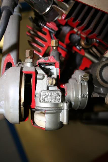 Motor Vespino seccionado 1128vhx