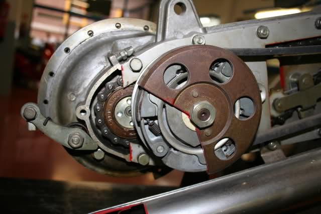 Motor Vespino seccionado 11i0hzd