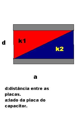 Capacitores - Associação de Dielétricos 14vo278