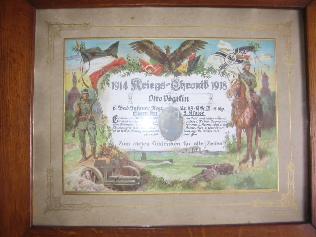 Post sur les objets du réserviste  de  l'empire allemand 14y3l6s