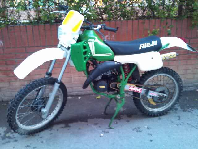 Mi Rieju MR 80 Verde  15p0oc9