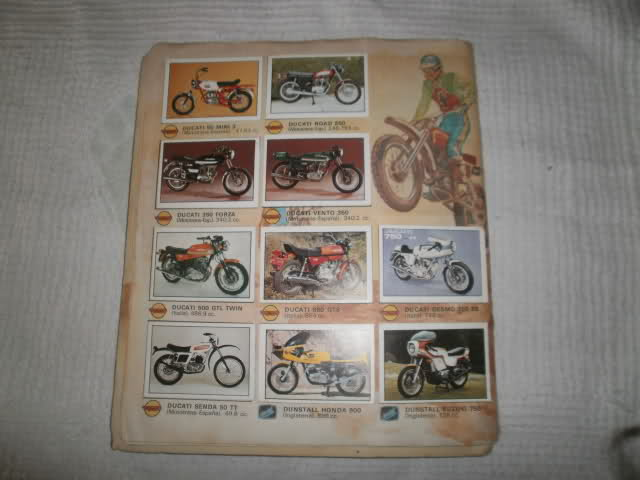 Album de motos Supercromos 20fw588