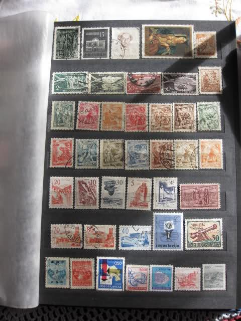 Filatelija -kolekcija poštanskih markica 20psvgy
