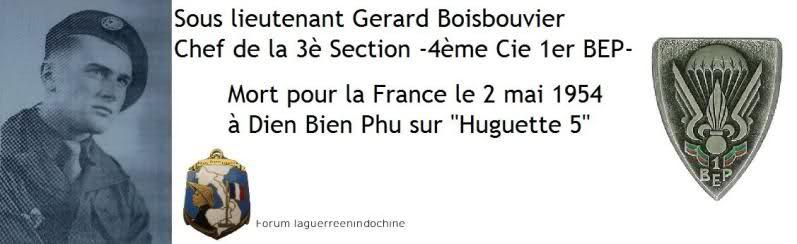 Sous-Lieutenant Gérard BOISBOUVIER 1er BEP MPLF 1954 25hd54w