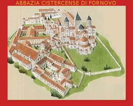 Pianta dell'Abbazia Cistercense di Fornovo 2drysdx