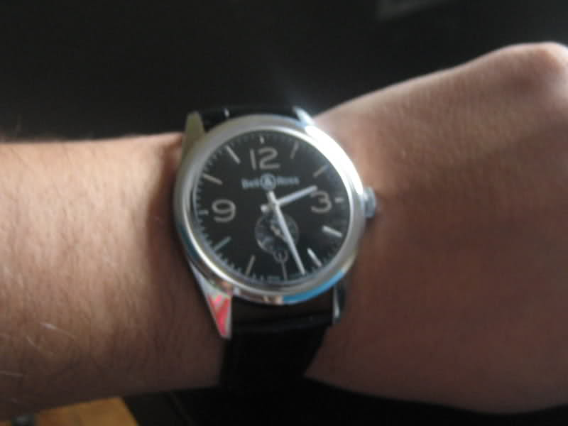 [Revue] Bell & Ross 123 vintage black officer 2e0rdoy