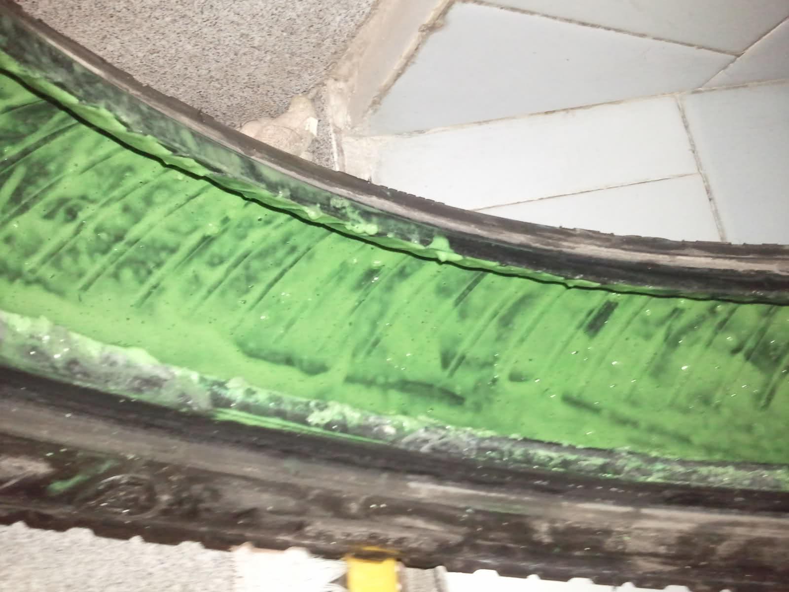 Slime en una cubierta con 15mil kms 2ev81nq