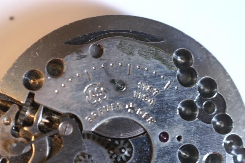 Restauration d'une vintage : UNIC calibre AS  2s17u68