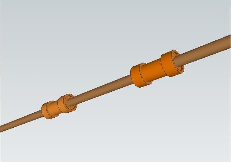 Reparación de tubo roto con coples de compresión Nmjj1l
