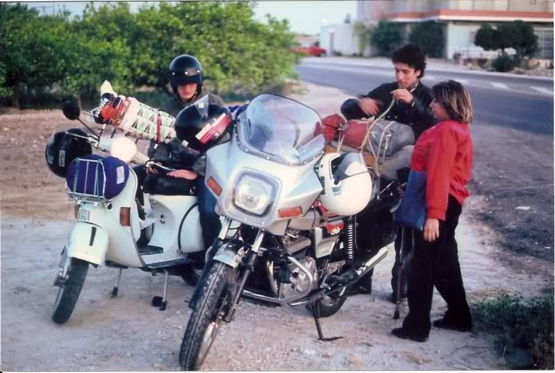 Aquel viaje del año 1.983: Murcia-Pirineos en Vespa Vq0co8