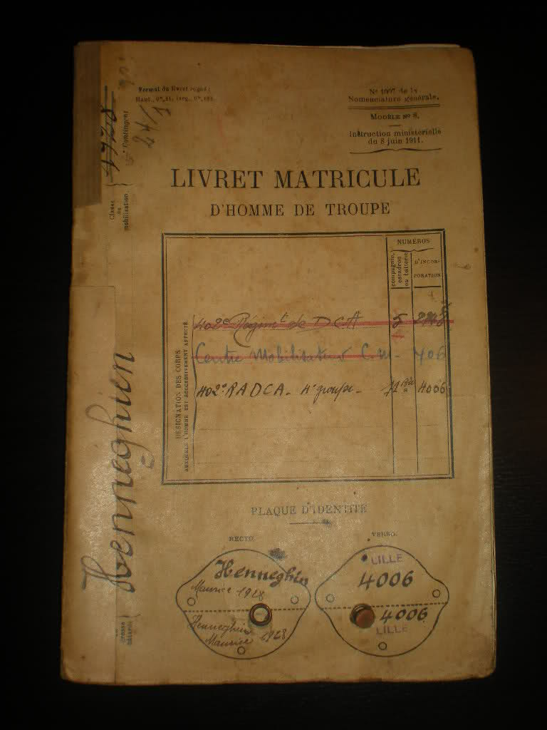 Livret matricule du 402 ème RADCA 10yi6j8